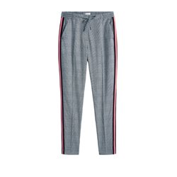Sandwich Clothing Sport Stripe Trousers White