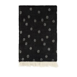 Sandwich Clothing Spotty Shawl Black