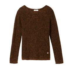 Sandwich Clothing Wool Jumper Bronze
