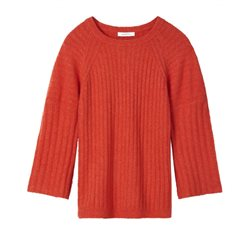 Sandwich Clothing Boucle Sweater Paprika
