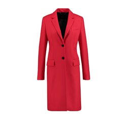 Taifun Tailored Wool Coat Red