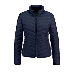 Taifun Padded Zip Up Jacket Navy