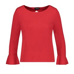 Taifun Long Sleeved Pullover Red