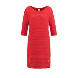 Taifun Knitted Dress Red