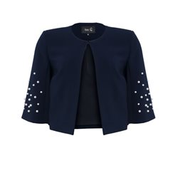 Fee G Pearl Box Jacket Navy