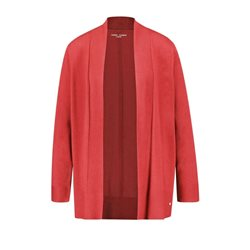 Gerry Weber Open Front Cardigan Coral