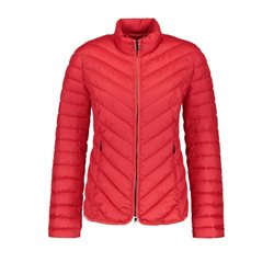 Gerry Weber Quilted Coat Red
