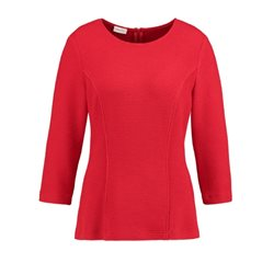 Gerry Weber Tailored Textured Top Red