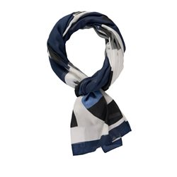 Gerry Weber Abstract Print Scarf Blue