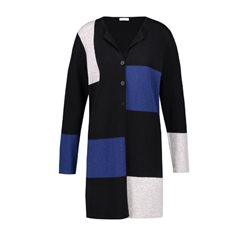 Gerry Weber Colour Block Cardigan Navy