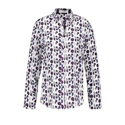 Gerry Weber Spot Pattern Blouse Purple