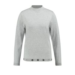 Gerry Weber Jumper With Decorative Rings Grey