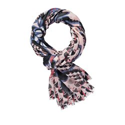 Gerry Weber Printed Scarf Navy And Blue