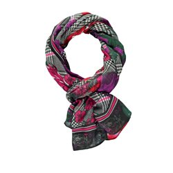 Gerry Weber Mixed Pattern Scarf Black