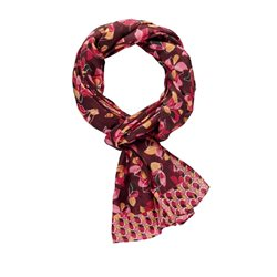 Gerry Weber Floral Print Scarf Wine
