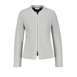 Gerry Weber Textured Blazer Grey
