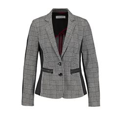 Gerry Weber Check Patterned Blazer Black
