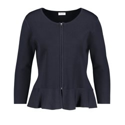 Gerry Weber Zip Up Cardigan Navy