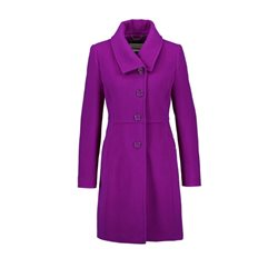 Gerry Weber Wool And Cashmere Coat Purple