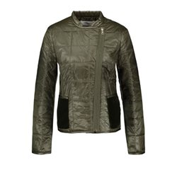 Gerry Weber Zipped Short Jacket Olive