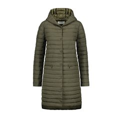 Gerry Weber Knee Length Coat Green