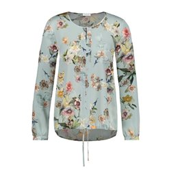 Gerry Weber Flower Print Blouse Mint
