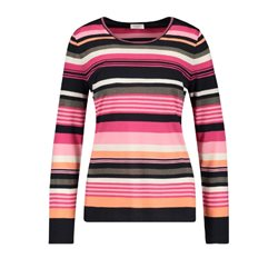Gerry Weber Striped Top With Metallic Detail