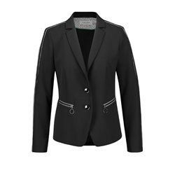 Gerry Weber Blazer With Contrasting Detail Black