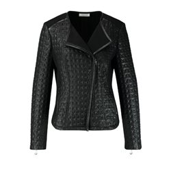 Gerry Weber Lightly Quilted Blazer Black
