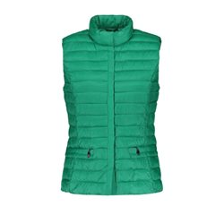Gerry Weber Quilted Gilet Leaf Green