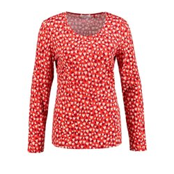 Gerry Weber Heart Printed Top Red