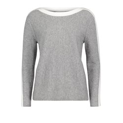 Betty & Co Cosy Knit Jumper Grey