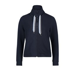 Betty & Co Funnel Neck Cardigan Navy