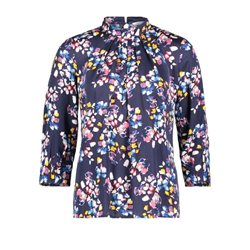 Betty & Co Floral Blouse Navy