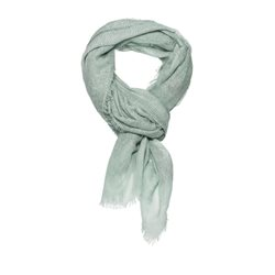 Monari Woven Scarf With Sequins Mint