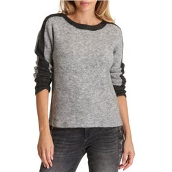 Betty & Co Grey Sparkle Detail Jumper