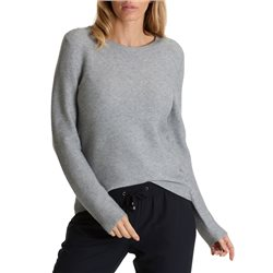 Betty & Co Knitted Pullover Grey