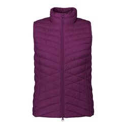 Betty Barclay Quilted Gilet Purple