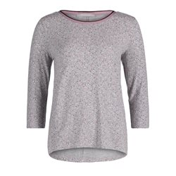 Betty & Co Speckle Print Top Grey