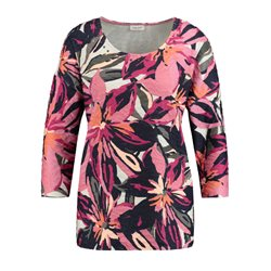 Gerry Weber Floral Top With Studs Pink
