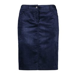Gerry Weber Velvet Skirt Navy