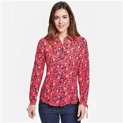 Gerry Weber Heart Print Blouse With Tie Details