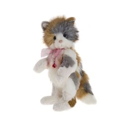 Charlie Bears Mitzi Plush Collection Bronze