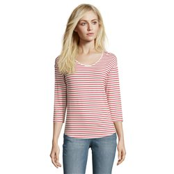 Betty & Co Striped Top Red