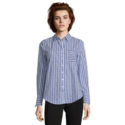 Betty Barclay Striped Shirt Blue