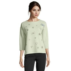 Betty Barclay Detailed Sweater Green