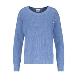 Taifun Pearl Detailed Jumper Blue