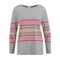 Gerry Weber Soft Striped Jumper Red