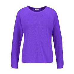 Gerry Weber Cotton Jumper Purple