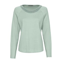 Monari Jewelled Jumper Mint